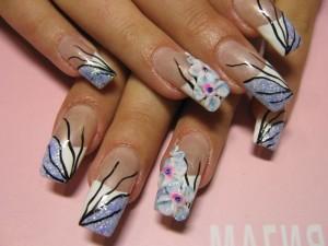 галерея роспись ногтей